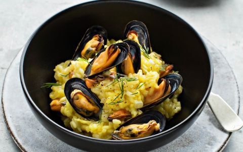 image Mussel Risotto
