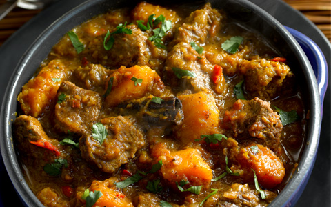 Beef Curry with Butternut Squash
