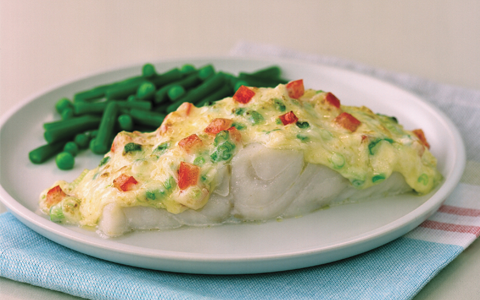 Cheesy Grilled Fish