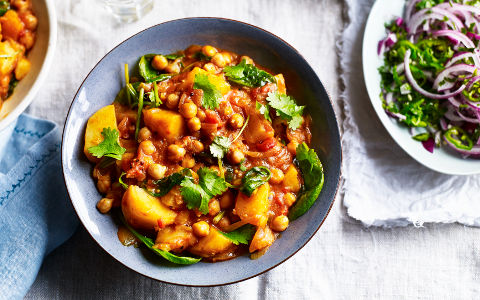 Chickpea and Potato Masala