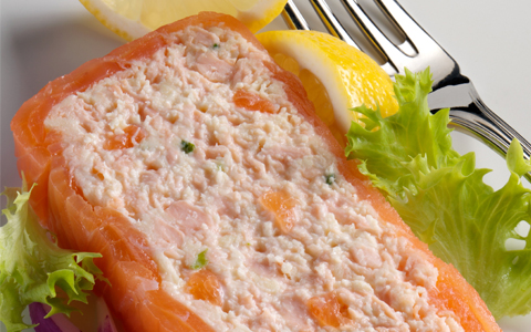 Chilled Salmon Terrine