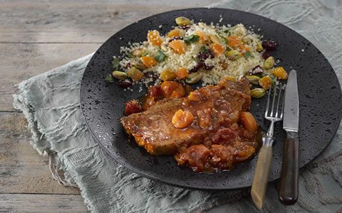 Moroccan Style Pork Chops