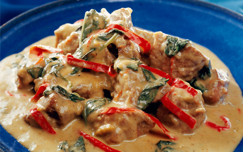 Thai Pork Green Curry