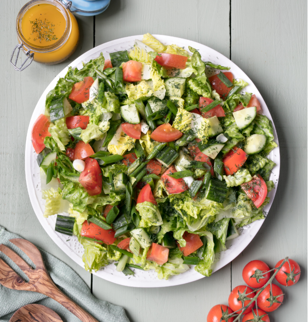 Fresh And Easy Leafy Green Salad