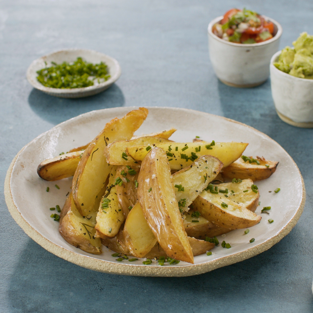 Skin-on Potato Wedges