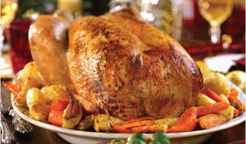 Christmas Roast.The Christmas Feast
